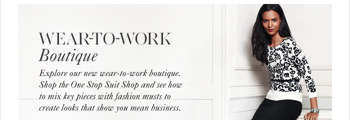 WEAR-TO-WORK BOUTIQUE