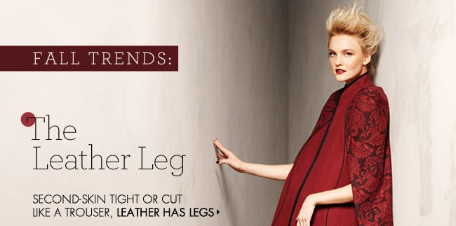 the leather leg