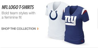 NFL LOGO T-SHIRTS | Bold team styles with a feminine fit | shop the collection