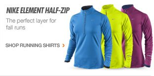 NIKE ELEMENT HALF-ZIP | The perfect layer for fall runs | Shop Running Shirts