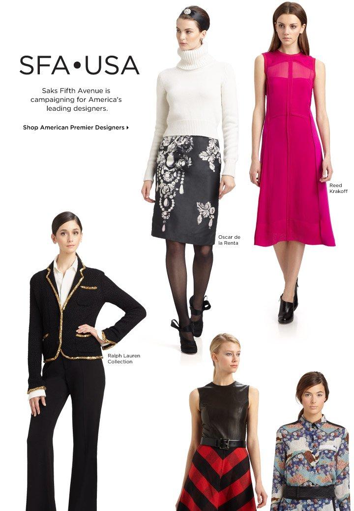 Shop American Premier Designers