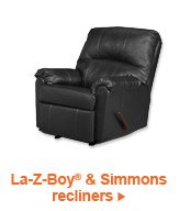 La-Z-Boy(R) and Simmons recliners