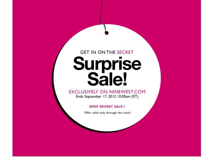 Click here to shop Secret Sale