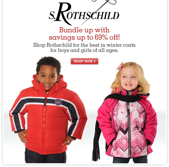Up to 69% OFF! Shop Rothschild for the best in winter coats for boys and girls of all ages.