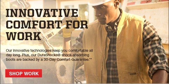 Innovative Comfort for Work Shop Work