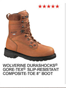 Wolverine Durashocks GORE-TEX Slip-Resistant Composite Toe 8