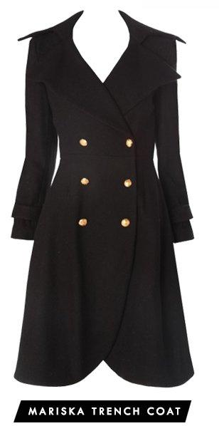 Mariska Trench Coat