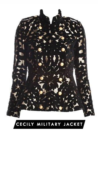 Cecily Military Jacket