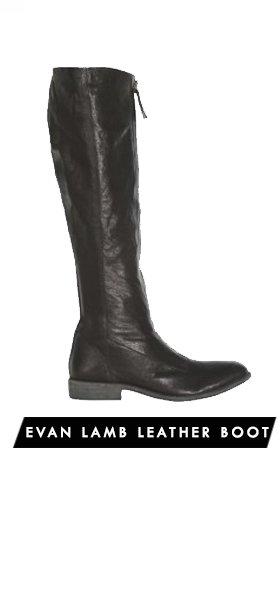 Evan Lamb Leather Boot