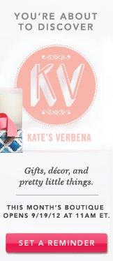 Kate's Verbena. Set A Reminder.