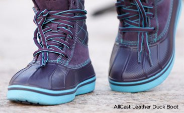 AllCast Leather Duck Boot