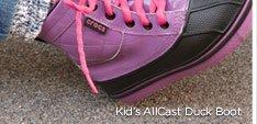 Kid's AllCast Duck Boot
