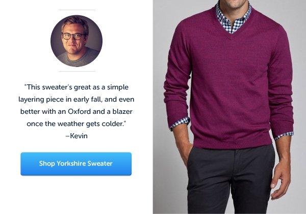 Yorkshire Sweater