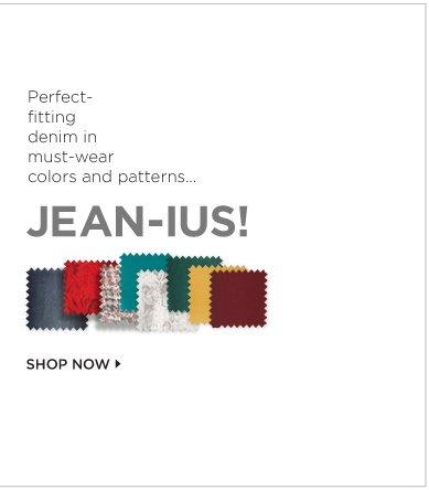JEAN-IUS! Shop Now