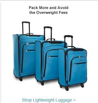 Shop Lightweight Luggage