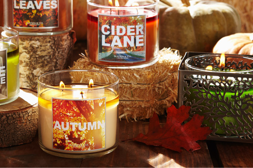 3-Wick Candles - 2 for $20!