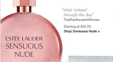 """stays 'unique' through the day"" ThatRedheadedWoman  Starting at $52.00 Shop Sensuous Nude »"
