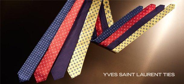 YVES SAINT LAURENT TIES, Event Ends September 22, 9:00 AM PT >