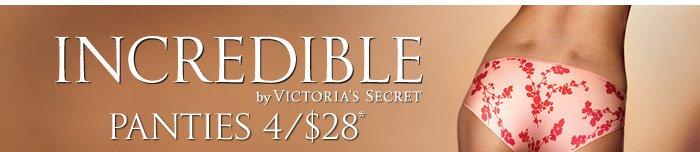 Incredible By Victoria's Secret Panties