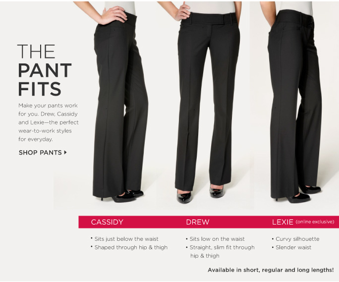 The Pant Fits