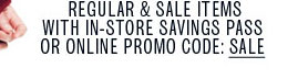 Promo Code: SALE