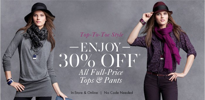 Top–To–Toe Style