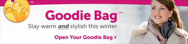 Goodie Bag - stay warm and stylish this winter - Open Your Goodie Bag