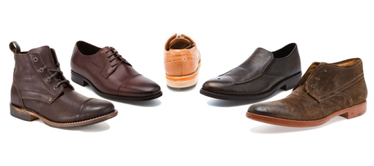 Feel For Fall:Men's Leather, Suede & Canvas Shoes