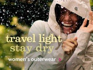 travel light stay dry