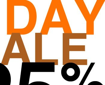 One Day Sale 25% OFF