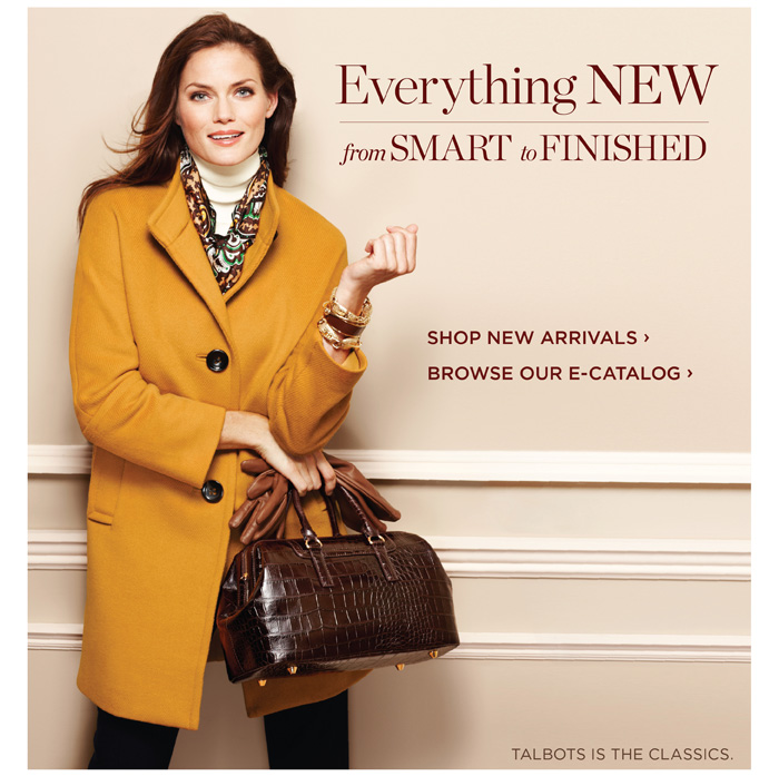 Everything new from smart to finished. Shop new arrivals. Browse our e-catalog.