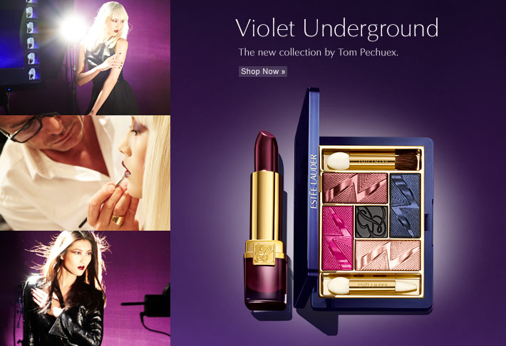 Violet Underground The new collection by Tom Pecheux. Shop Now  »