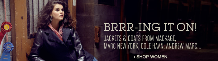 Jackets & Coats from Mackage, Marc New York, Cale Haan, Andrew Marc