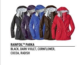WeatherEdge® Rainfoil™ Parka