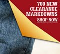 700 New Clearance Items!!!