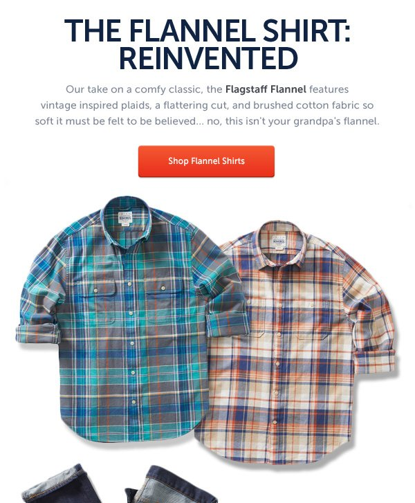 The Flannel Shirt: Reinvented