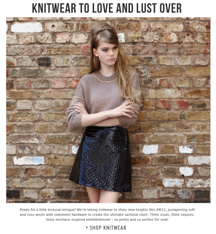 KNITWEAR TO LOVE AND LUST OVER - Shop Knitwear