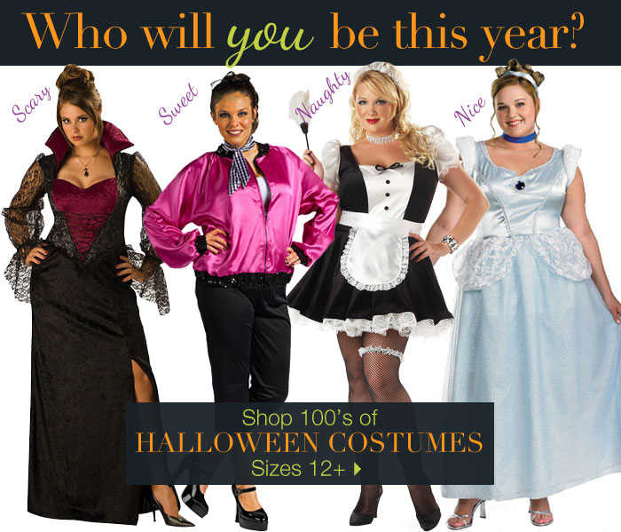 Shop 100's of Halloween Costumes