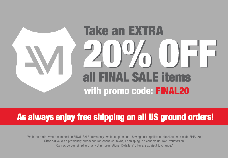 Take an EXTRA 20% Off Final Sale Price