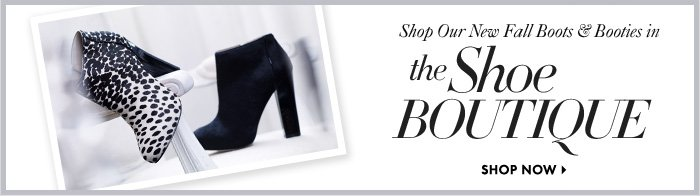 Shop Our New Fall Boots & Booties In 