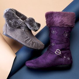 Toasty Toes: Girls' Boots