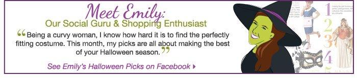 See Emily's Halloween Picks on Facebook