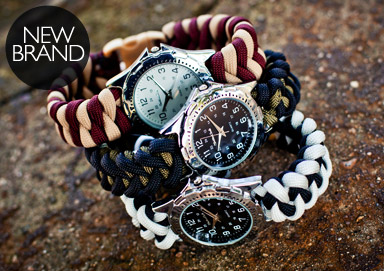 Shop Paracord Watches and Jewelry