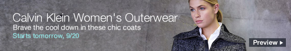 Calvin Klein Outerwear on sale tomorrow, preview now