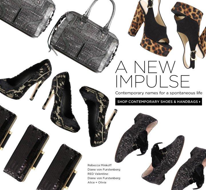 Shop Contemporary Shoes & Handbags