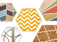 Pattern Play Geometric Furniture & Dcor