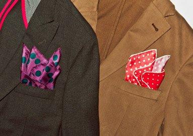 Shop Dress Up: Cufflinks & Pocket Squares