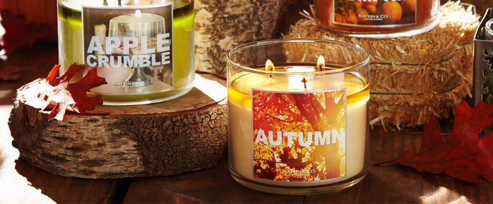 3-Wick Candles - 2 for $20