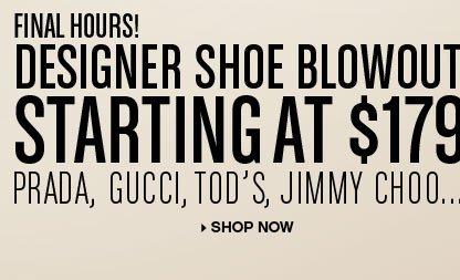 The Designer Shoe Blowout