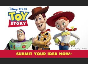 Submit your Toy Story design now